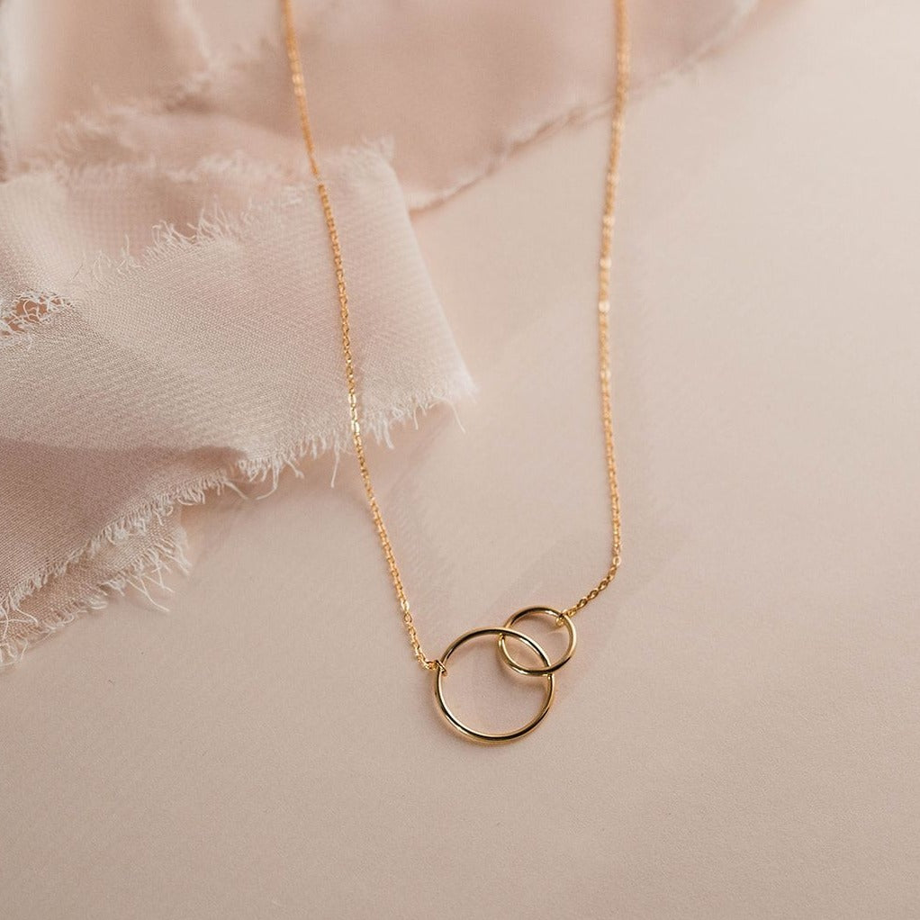 Circle Duo Necklace
