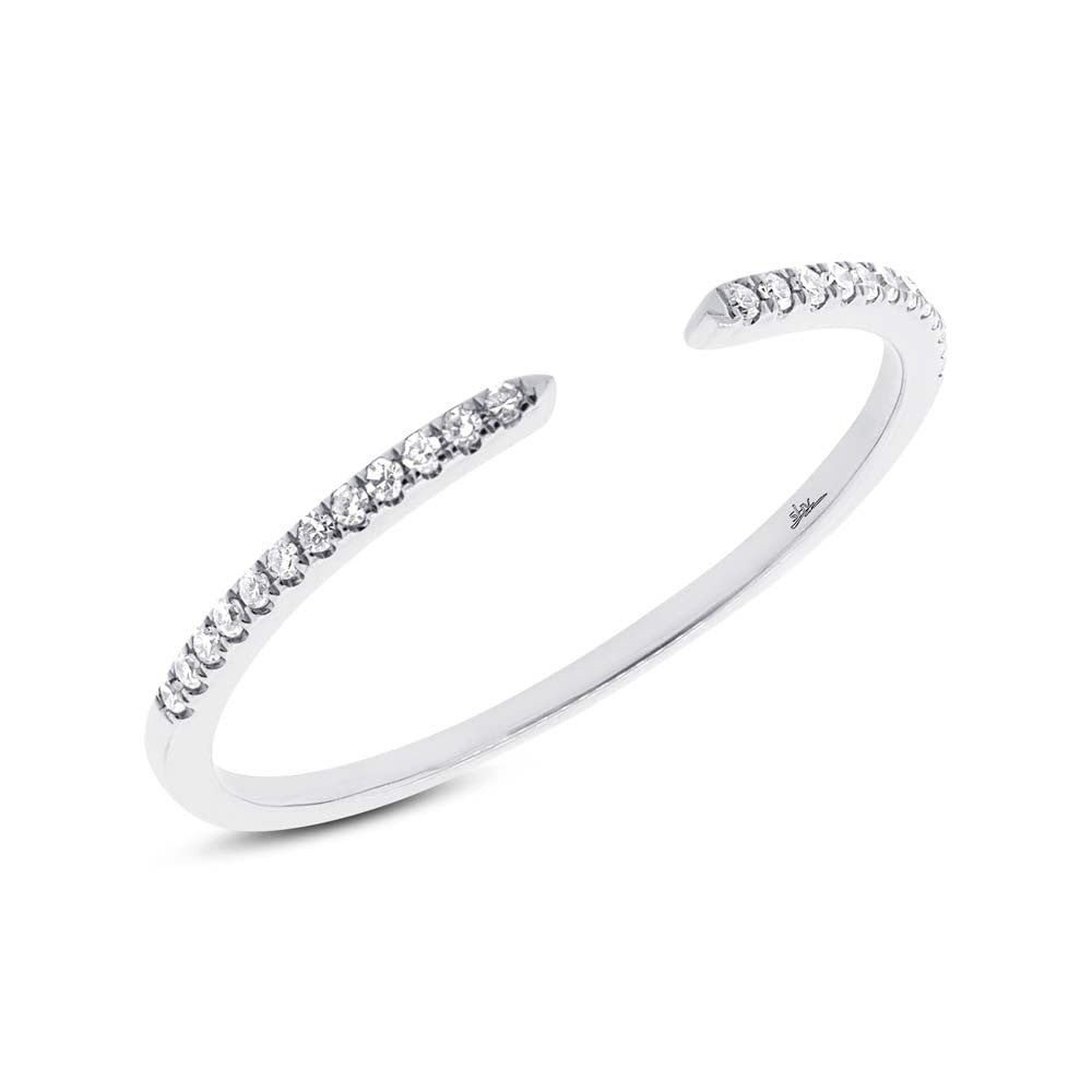 Diamonds Open Ring