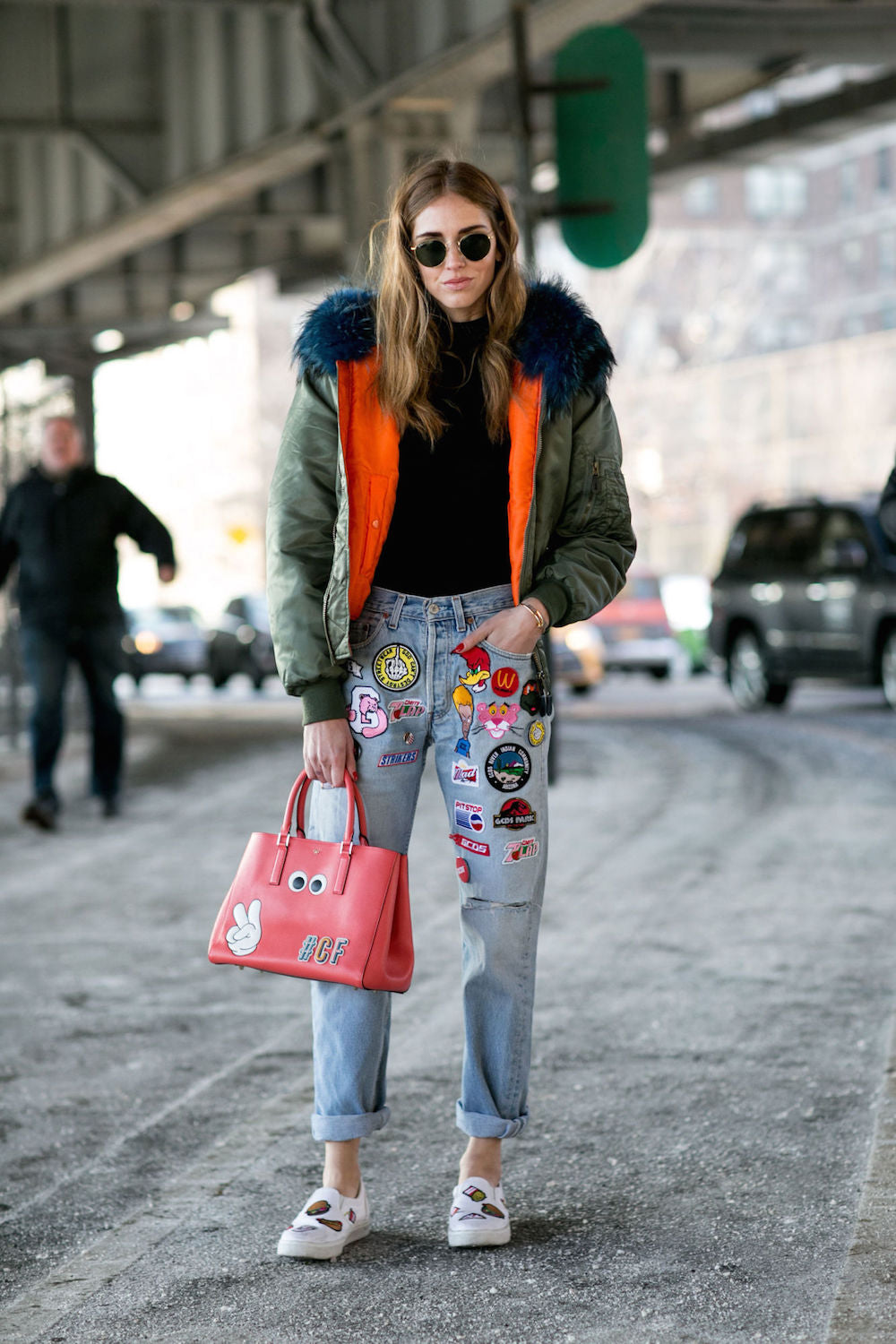 New York Fashion Week Spring 2015 Street Style - Chiara Ferragni