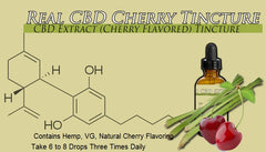 Wholesale Lot 20 Bottles Cherry Flavored Tincture 1500mg Each Bottle