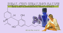 4 Ounces High CBD Healing Salve for Wounds, Blemishes and Cancers