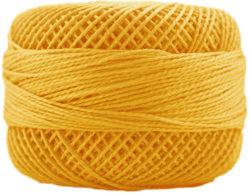 Perle Cotton: 1232 Deep Canary