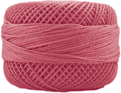 Perle Cotton: 1889 Medium Melon