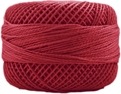Perle Cotton: 1902 Red