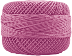 Perle Cotton: 2323 Cyclamen Pink