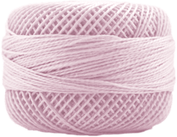 Perle Cotton: 2390 Ultra Light Plum