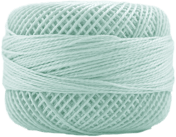 Perle Cotton: 4048 Light Seagreen