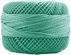 Perle Cotton: 4059 Medium Seagreen