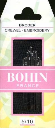 Bohin 5/10 Needles - Stitch Supply Co.