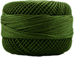 Perle Cotton: 4565 Avocado Green