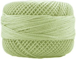 Perle Cotton: 5224 Light Khaki Green