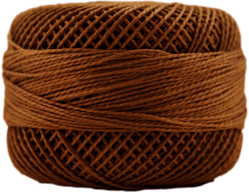 Perle Cotton: 7740 Dark Golden Brown