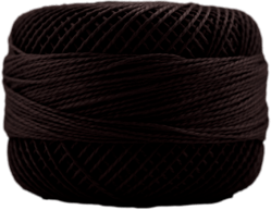 Perle Cotton: 8083 Dark Coffee Brown