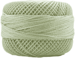 Perle Cotton: 8310 Light Drab Green Brown