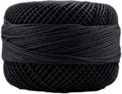 Perle Cotton: 8756 Almost Black