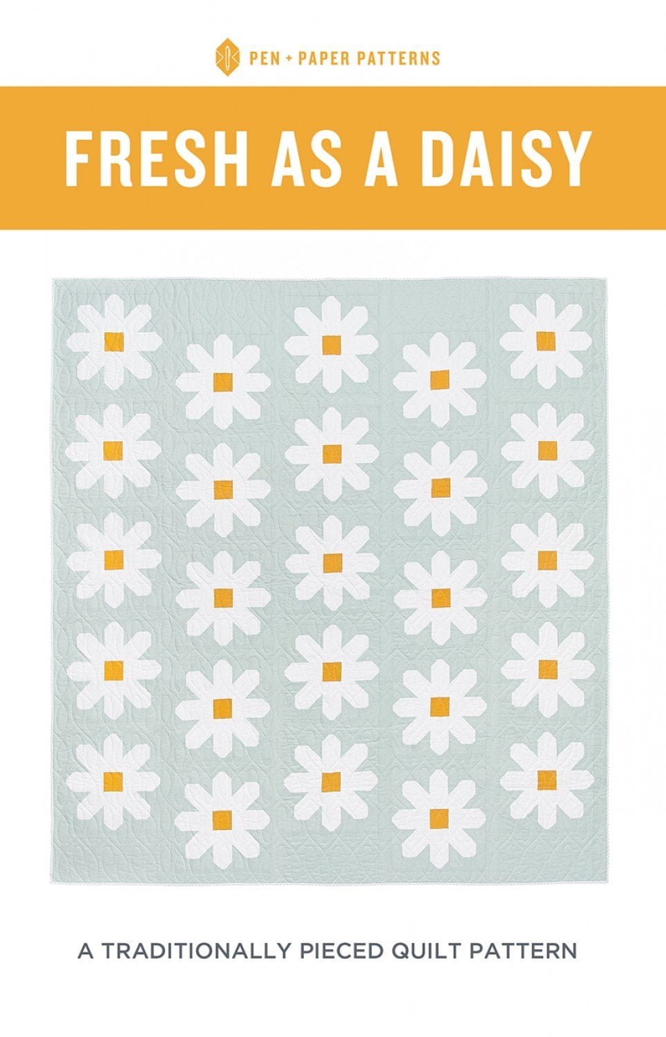 Fresh as a Daisy Quilt Pattern