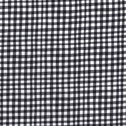 Gingham Play: Black