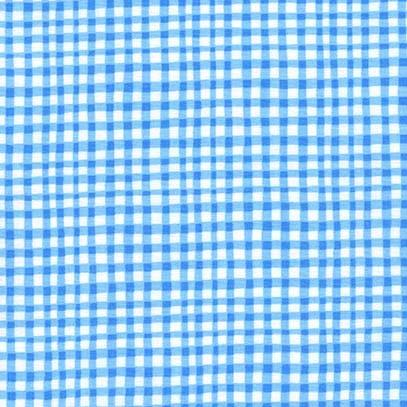 Gingham Play: Blue