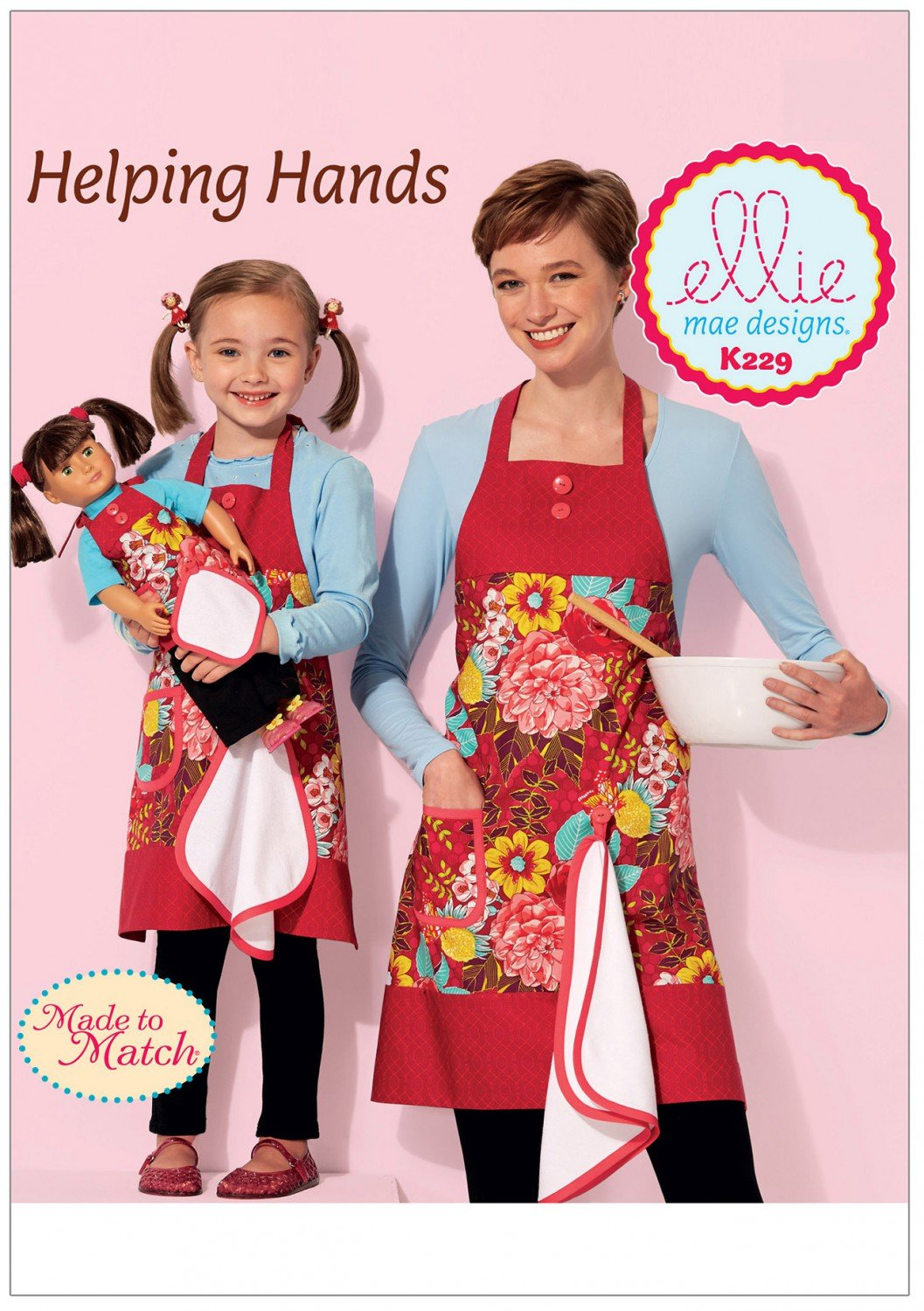 Helping Hands Apron Pattern