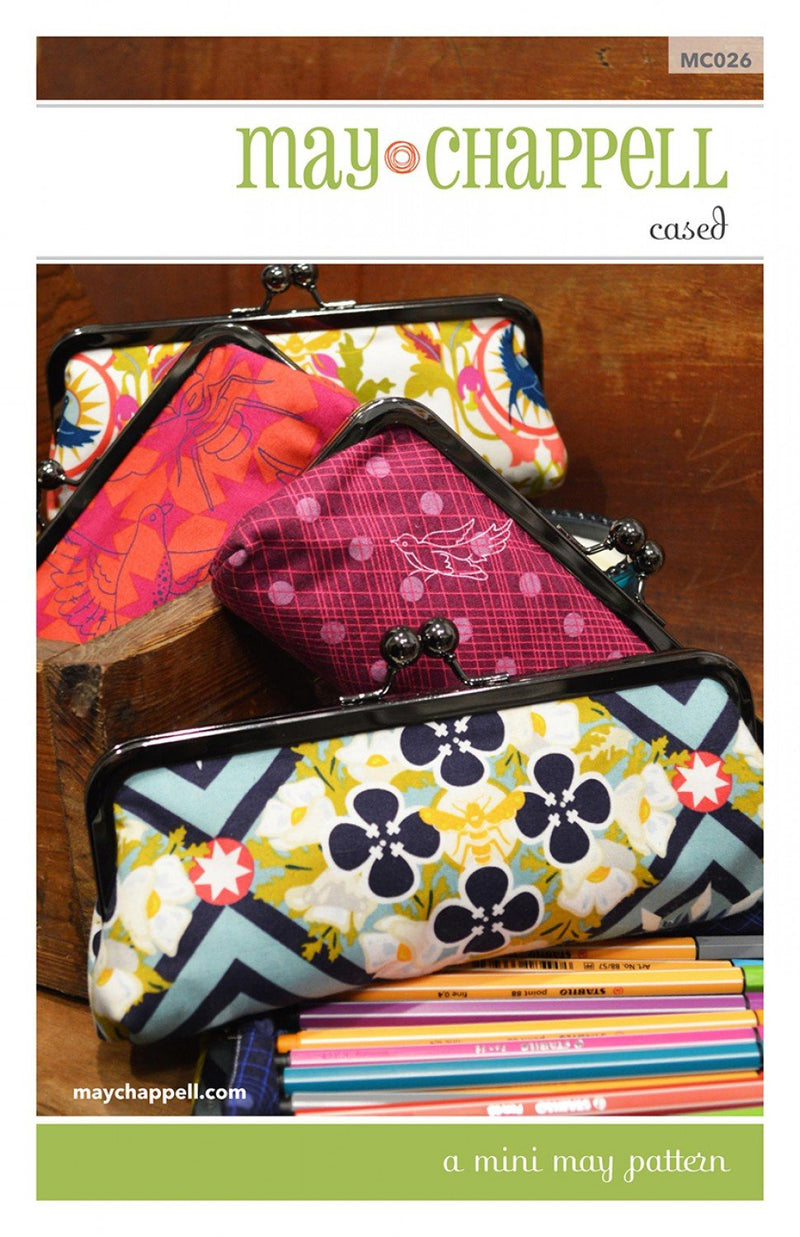 Mini May Clutch Pattern by May Chappell