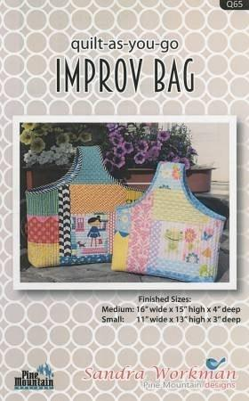 Quilt-As-You-Go Improv Bag