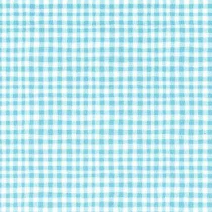 Gingham Play: Powder Blue