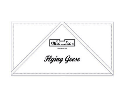Bloc Loc Flying Geese Ruler