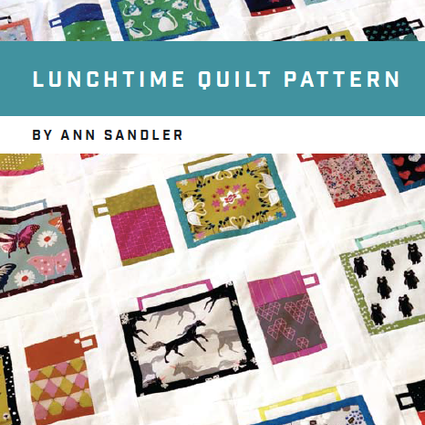 Lunchtime Quilt PDF Pattern