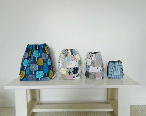Drawstring Bag - PDF Pattern
