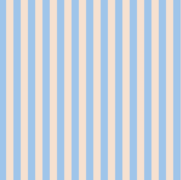 CANVAS Primavera: Cabana Stripe in Periwinkle