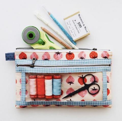 Twice As Nice Pouch Pattern & Kits