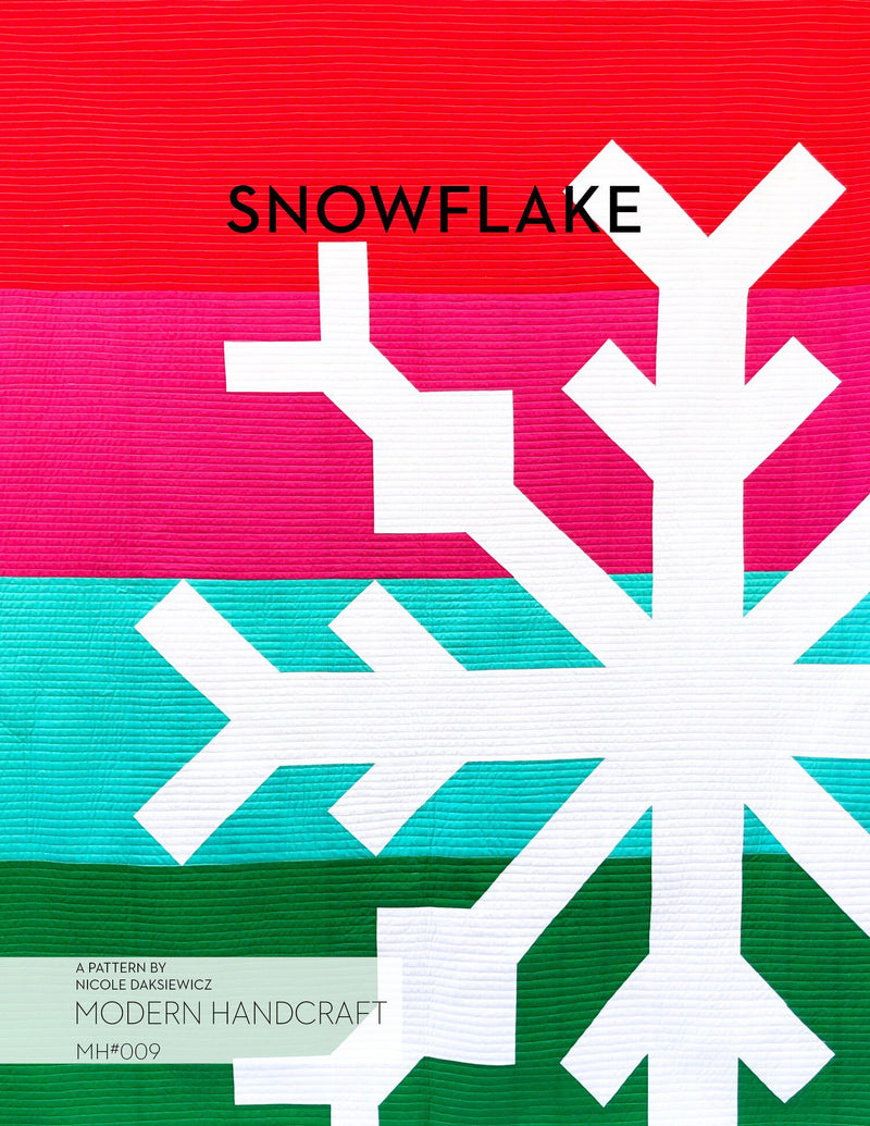 Snowflake Quilt Pattern