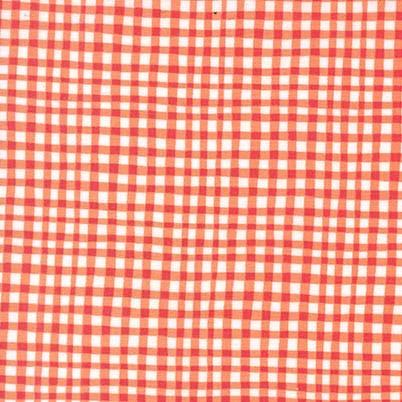 Gingham Play: Tangerine
