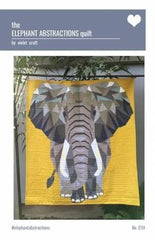 Elephant Abstractions Quilt Kit