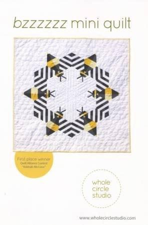 Bzzzzzz Mini Quilt - Stitch Supply Co.