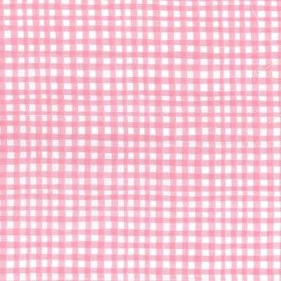 Gingham Play: Carnation