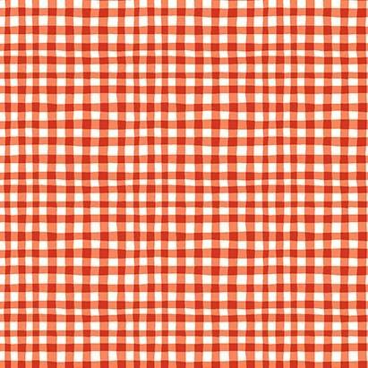 Gingham Play: Red