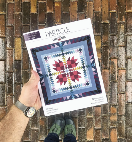 Particle Quilt Pattern by Giucy Giuce
