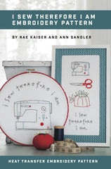 I Sew Therefore I am Digital Pattern - Stitch Supply Co.  - 1