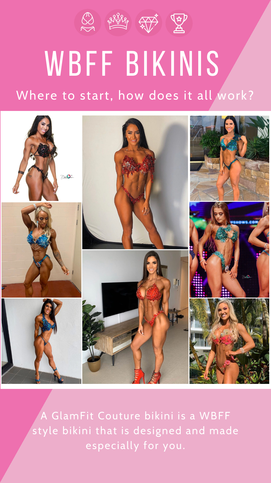 WBFF Bikinis - Where to start, how does it all work?