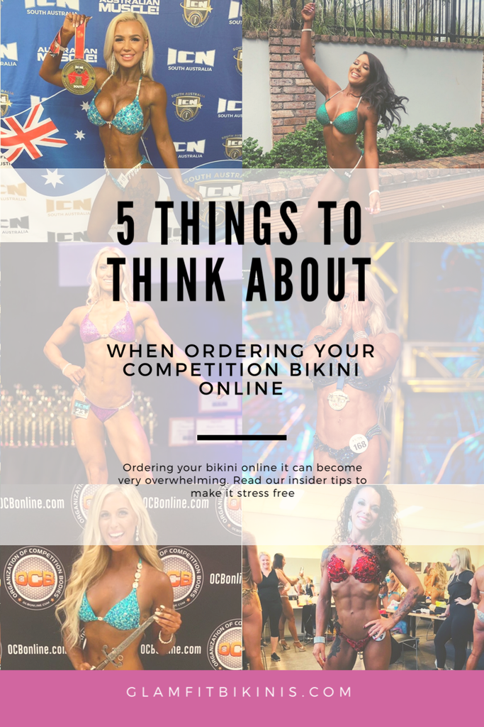 5 things to think about when ordering your competition bikini online