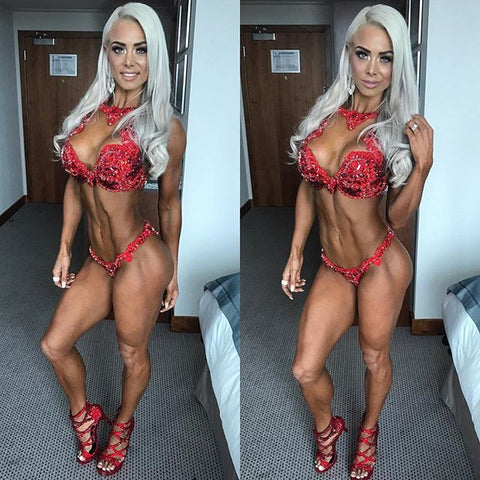 WBFF Bikini Champion Lauren Simpson