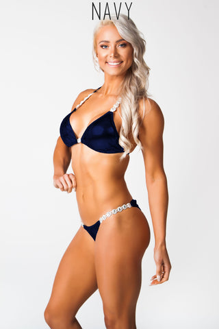 Lauren Simpson Navy Fitness competition bikini