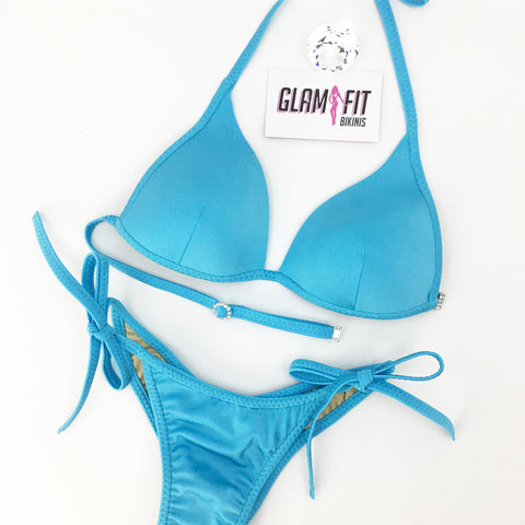 Posing Bikini - Sky Blue (All Fabric)