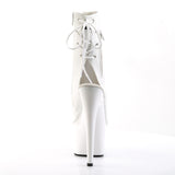 ADORE-1018 Wht Faux Leather/Wht