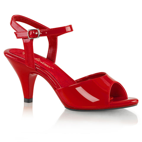 BELLE-309 Red Pat/Red