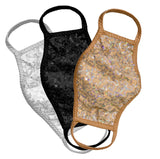 Sequin Face Mask - 3 Pack