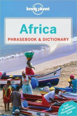 LONELY PLANET AFRICA DICTIONARY & PHRASEBOOK - Charles Darwin University Bookshop