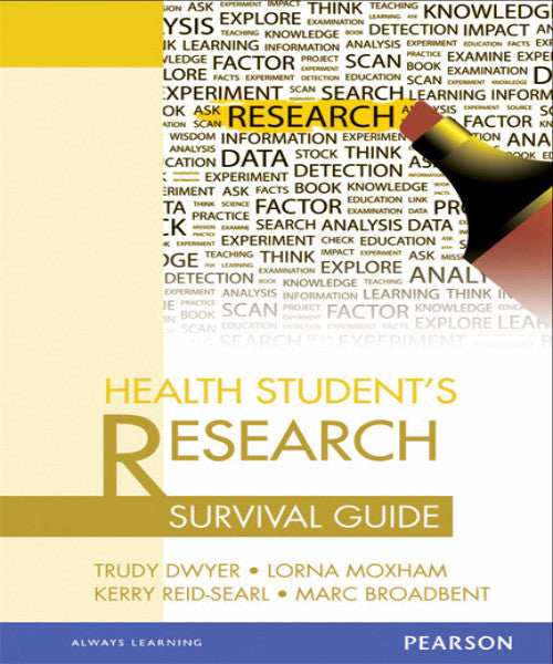 HEALTH STUDENT'S RESEARCH SURVIVAL GUIDE - Charles Darwin University Bookshop