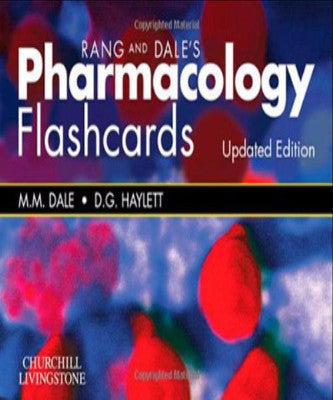RANG & DALES PHARMACOLOGY FLASH CARDS - Charles Darwin University Bookshop